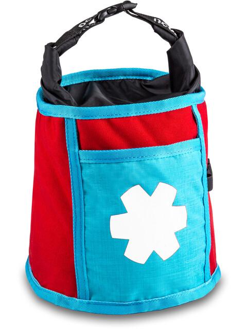 Ocun Boulder Bag - Bolsas para Tiza & Boulder - rojo/Turquesa